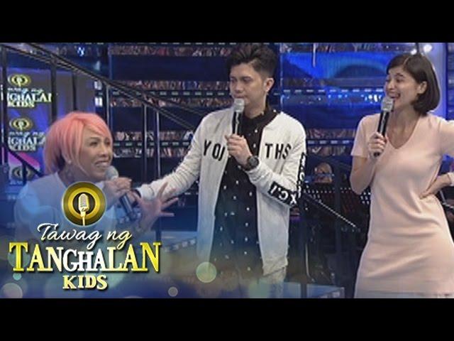Tawag ng Tanghalan Kids: Vice gets teased by Anne and Vhong