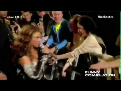 Funny compilation Beyonce fan sings live ! epic fail