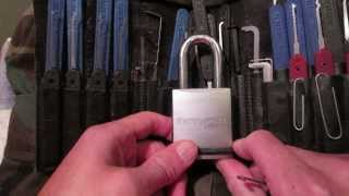 Kryptonite by Schlage KS-42 Padlock (Thanks Dwight Boyd)