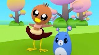Мультфильмы для малышей - Руби и Йо-Йо - Страусёнок учится летать