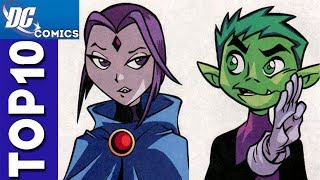 Top 10 Funny Moments From Teen Titans Season 1 [#1]