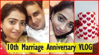 10th Marriage Anniversary Surprise By Husband / Vlog - INDIAN MOM ON DUTY