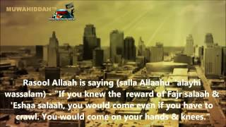 Do not miss FAJR Salah Reminder Omar El Banna