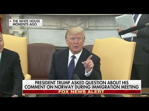 President Trump Showed Kim Jong Un & Journalists A Video At The Press Conference In Singapore | TIME