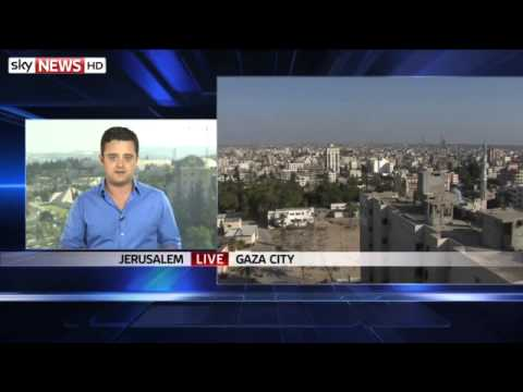 War Israel Airstrikes After Rockets Fired From Gaza 1