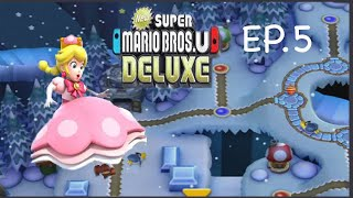 Chilly time with Peachette! (EP.5)  - New Super Mario Bros U Deluxe