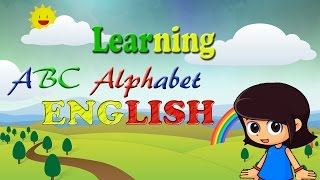 Learning  »» Alphabet  ^_^ ABCD for Children [ENGLISH LANGUAGE]