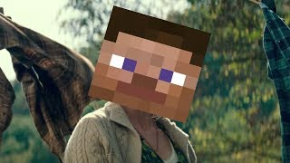 A Quiet Place but with minecraft music