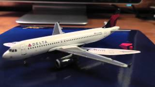 Gemini Jets 1:400 Delta Airlines Airbus A320 Unboxing/Review