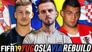 THE JUVENTUS YUGOSLAVIA REBUILD CHALLENGE!!! FIFA 19 Career Mode