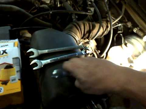 2001 Toyota Camry Fuel Filter Replacement