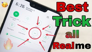 [Hindi] How to Hide Notch On Realme 2 or All Realme Phones  Hide or Unhide Notch area in All Realme