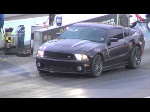 Roush Mustang Stage 3 Quarter Mile Run