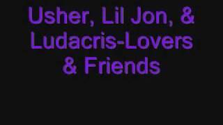 Watch Ludacris Lovers  Friends video