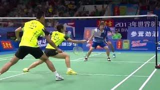 T.Ahmad/L.Natsir v Xu C./Ma J.|XD-F| Wang Lao Ji BWF World Champ. 2013