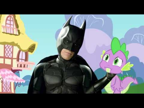 my Little Pony vs Spiderman Batman Meets my Little Pony