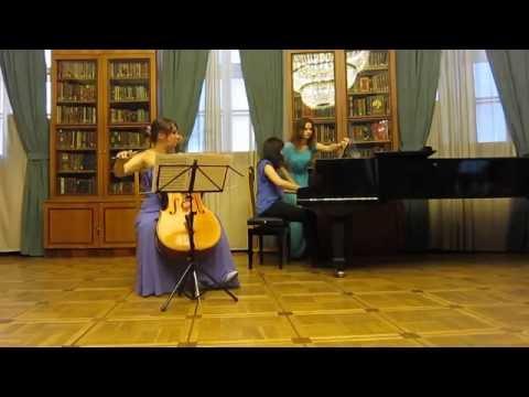 Веберн, Антон фон - Три пьесы для виолончели и фортепиано