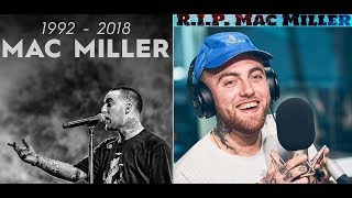 Mac Miller Found Dead at age 26. Cops say the cause of death is Accidental Drug Overdose.