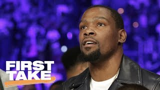 Kevin Durant Doing What He Can To Keep Warriors Together | First Take | June 20, 2017