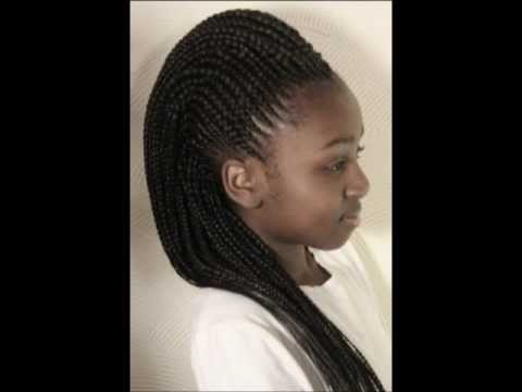 Learn to Design Cornrow Mohawk