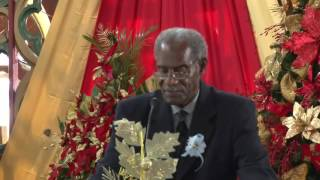 Eulogy of Hon Sir K Dwight Venner