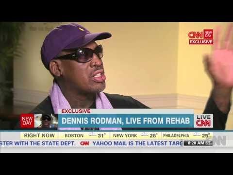 Dennis Rodman live from Rehab