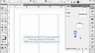format de page different dans un document Indesign