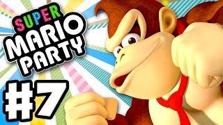 Super Mario Party - Gameplay Walkthrough Part 7 - Unlocking Donkey Kong! (Nintendo Switch)