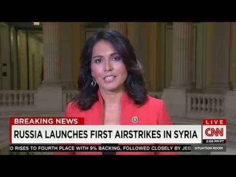 Rep. Tulsi Gabbard on CNN's The Situation Room w/ Wolf Blitzer - Sept 30, 2015 [1/2]