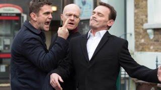 EastEnders - Jack Branning Vs. Billy Mitchell (16th February 2017)