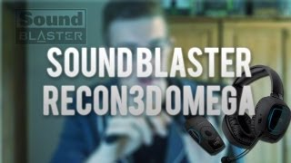Sound Blaster Recon3D Omega Wireless Headset [Unboxing & Review]