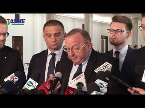 Ujawnić Tajne Negocjacje Między Rządami Polski I USA W Sprawie Ustawy 447 JUST! - Konf. Pras.