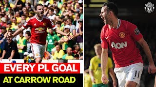 Manchester United | Every PL goal at Norwich City | Premier League 2019/20