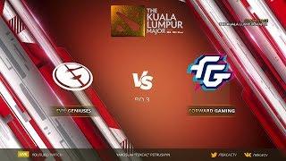 [RU] Evil Geniuses vs  Forward Gaming   Bo3   The Kuala Lumpur Major