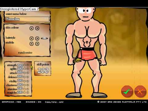 Swords and Sandals 2, Money, Stat and Level Hack Cheat engine...