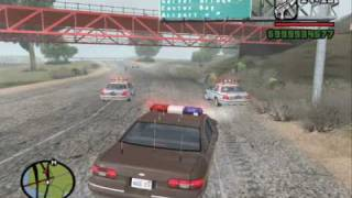 GTA SA: 1992 Bone County Sheriff's Department Caprice
