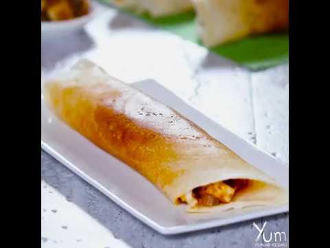 Paneer Chilli Dosa |  Paneer Chilli Dosa Recipe | Paneer Dosa Recipe