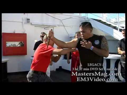 Serrada Escrima Legacy-2 Chris Chaz Siangco at Queen Mary Long Beach CA. Image 1