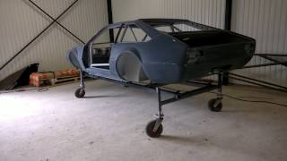 Lamborghini Jarama race car restoration project 5