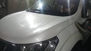 2'nd COATING OF (MAHINDRA XUV 500) AT SUPERCLEAN CARWASH & DETAILING