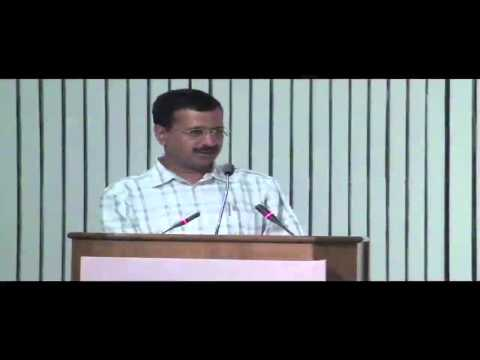 Arvind Kejriwal Addressing at Civil Service programme