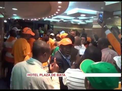 (exclu ca me dit sport)inside CAN2015 cote d'ivoire(Hervet renard) après la victoire face au Ghana