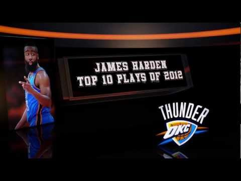 James Harden Top 10 Plays of 2011-2012