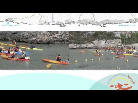 <p> III Concentraci&oacute;n Popular de kayak Menorca 2011</p>