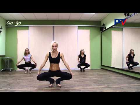 """Танцевальный семинар """"Go-go"""" от РСТ и студии Viktoria"""