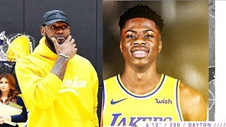 LeBron James Gets Giannis Antetokounmpo's Brother On The Lakers (Kostas Antetokounmpo)
