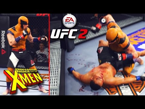 Wolverine Is A Savage! Getting BLOOD Everywhere! EA Sports UFC 2 Online Gameplay