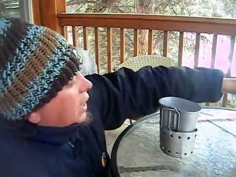 Alcohol Stove.. My homemade BB gun tin alcohol stove