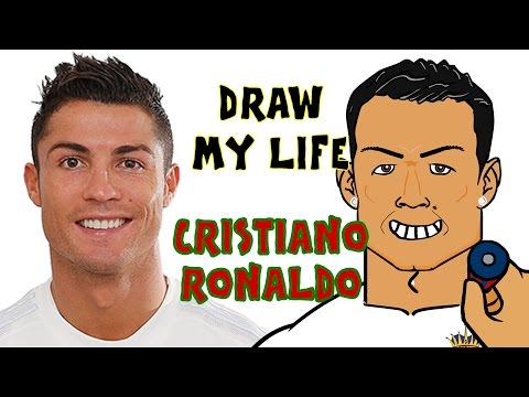 Cristiano Ronaldo - DRAW MY LIFE! (CR7 goals, highlights, records)
