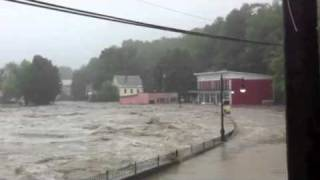 2011 Shelburne Falls Flooding from Hurricane Irene